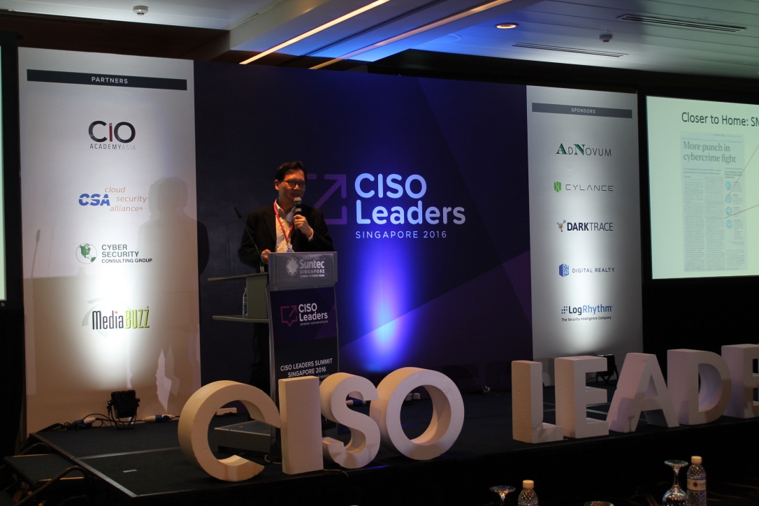 CISO Leaders Summit Singapore 2019