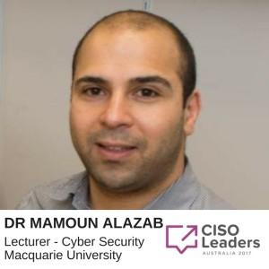 9. Dr Mamoun Alazab